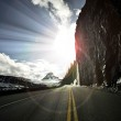 Going-to-the-Sun Road — Stock Photo