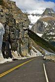 Montana Mountain Road — Stock Photo