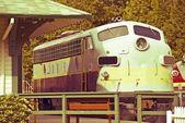 Vintage Train Engine — Stock Photo