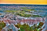 Scenic Badlands Landscape — Stock Photo