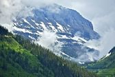 Cloudy Rocky Mountains — Stock Photo