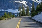 Bergweg — Stockfoto