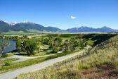 Reza, montana — Foto de Stock