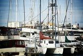 Small Boats Harbor — Stock Photo
