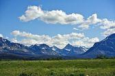 Montañas rocosas de montana — Foto de Stock