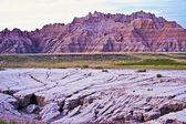 Eroded Badlands Soils — Stock Photo