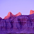Day End in Badlands — Stock Photo