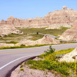 Badlands Road — Stock Photo