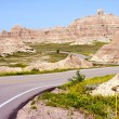 Stock Photo: Badlands Road