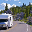 Yellowstone RV Trip — Stock Photo
