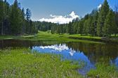 Small Yellowstone Lake — Stock Photo