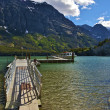 Saint Mary Lake — Stock Photo #17641095
