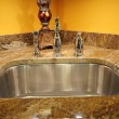 Stock Photo: Silver Sink
