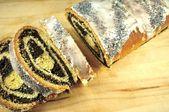 Poppy-Seed Cake — Stock Photo