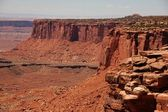 Canyonland Erosion — Stock Photo