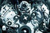 Powerful Engine Closeup — Stock Photo