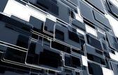Glassy Blocks 3D — Stock Photo