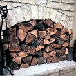 Fireplace Wood — Stock Photo #17670277