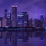 City of Chicago — Stock Photo