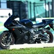 Black Sportbike — Stock Photo #17673413