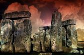 Mysterious Stonehenge — Stock Photo