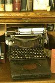 Vintage schriftsteller desktop — Stockfoto