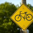 Bike Route Sign — Stock Photo #18188457