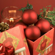 Christmas Elements — Stock Photo