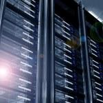 Modern Data Center — Stock Photo