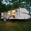 Stock Photo: 25 Feet Travel Trailer
