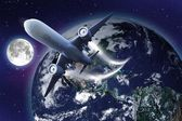 Space Flight — Stock Photo