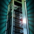 Royalty-Free Stock Photo: Servers Tower