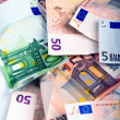 Euro Money Background — Stock Photo #18197561