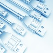 Stock Photo: USB Background