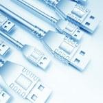 USB Background — Stock Photo