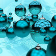 Blue Christmas — Foto de Stock