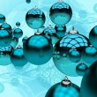 Stock Photo: Blue Christmas
