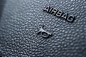 Airbag and Honk — Stock Photo