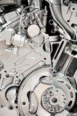 汽车发动机 — 图库照片