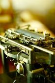 Part of Typewriter — Stockfoto