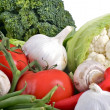 Vegetables Pile — Stock Photo