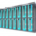 Servers Rack - Hosting — Stock Photo #18225179
