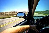 Driving Thru Summer — Stock Photo