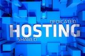 Dedicado hosting — Foto de Stock