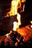 壁炉 — 图库照片