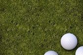 Golf Balls Golf Field — Stockfoto