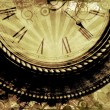 Vintage Clock Background — Stock Photo
