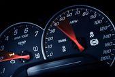 Sporty Speedometer — Stock Photo