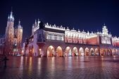 Krakow Main Square — Stock Photo