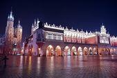 Krakow Main Square — Stock Photo